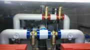 Installation de séparateurs de boues et séparateurs d\'air