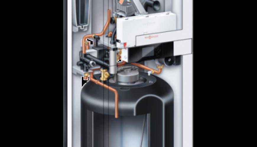 Remplacement d'une chaudière GAZ condensation Viessmann